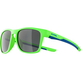 Alpina Flexxy Cool Kids I Brille Kinder neon green/blue/black mirror